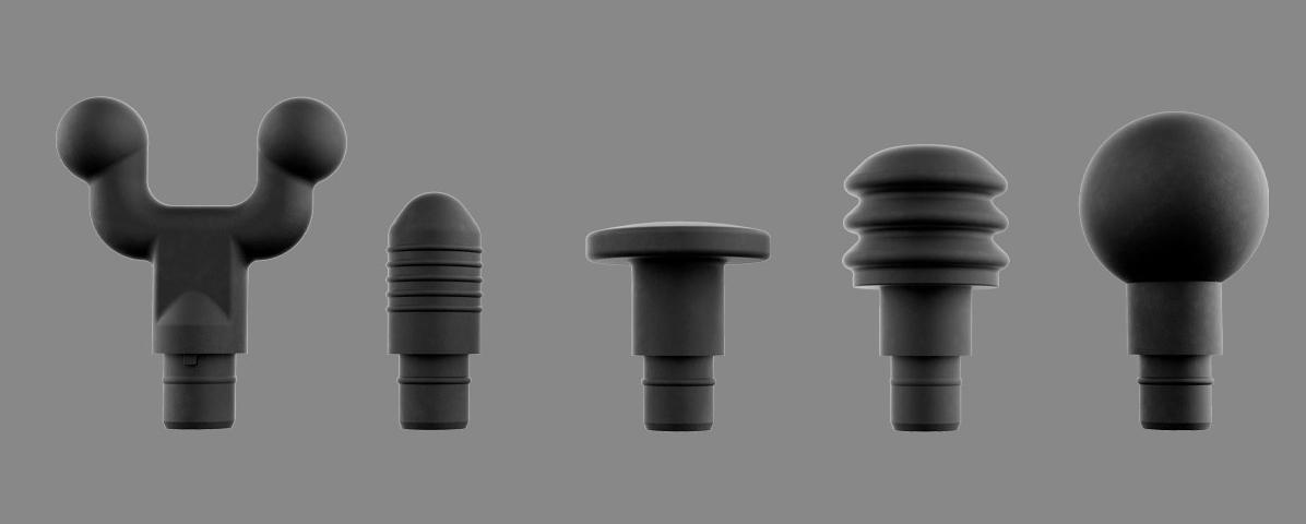 Hyperice Hypervolt Plus head attachments