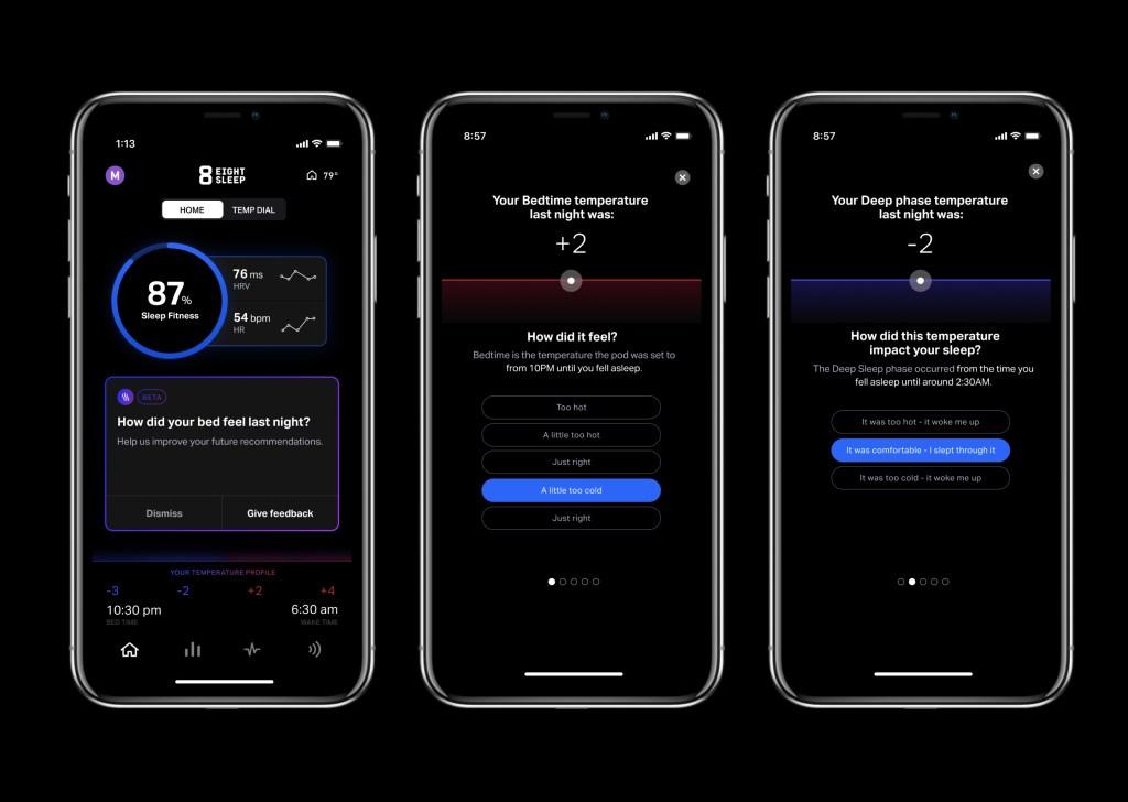 Eight Sleep Smart Temp Autopilot App
